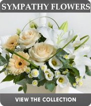 London Funeral Sympathy flowers